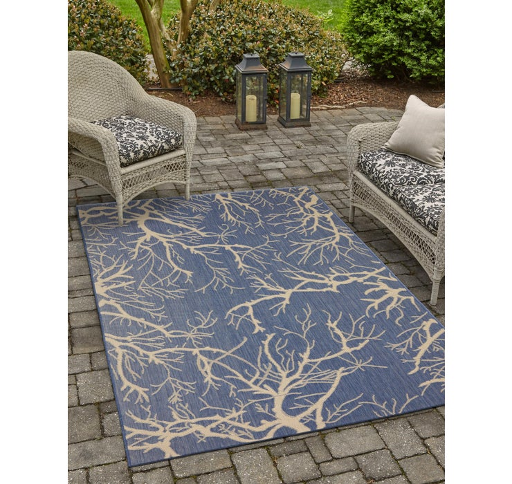 Image of 183cm x 275cm Outdoor Botanical Rug