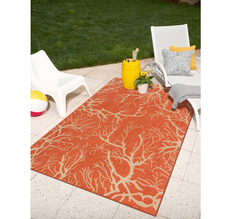 Image of 245cm x 345cm Outdoor Botanical Rug