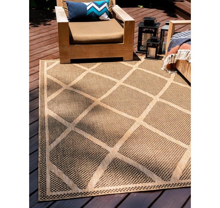 4' x 6' Outdoor Trellis Rug