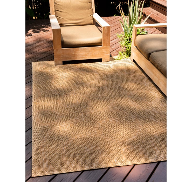 4' x 6' Outdoor Botanical Rug