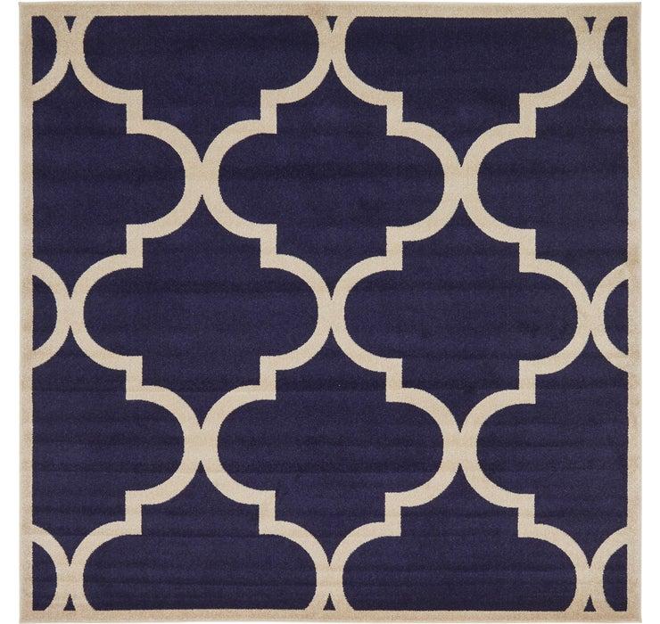 8' x 8' Trellis Square Rug