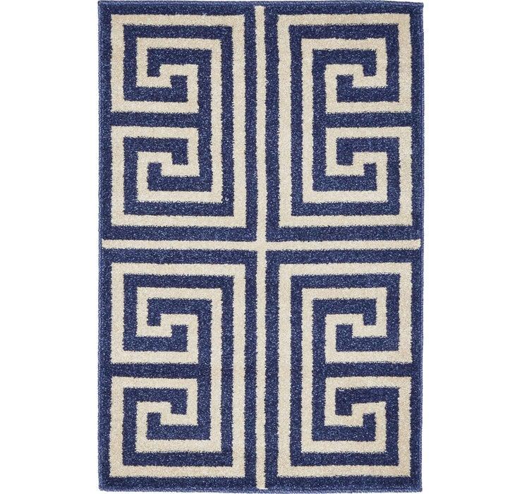 2' x 3' Greek Key Rug