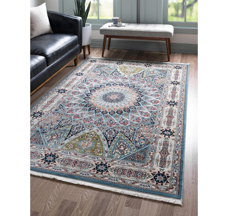 Image of  Blue Rabia Rug