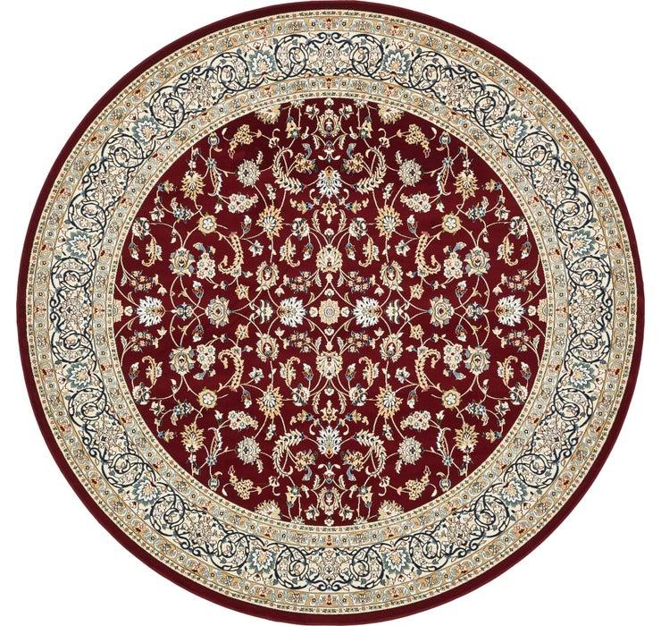 10' x 10' Nain Design Round Rug