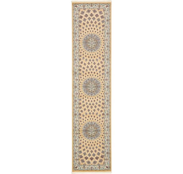 90cm x 395cm Nain Design Runner Rug