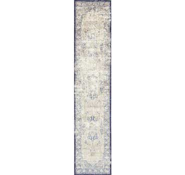 Image of  Blue Charlotte Runner Rug