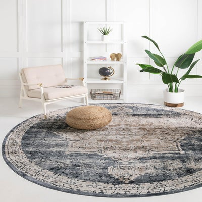 Traditional Round Rugs