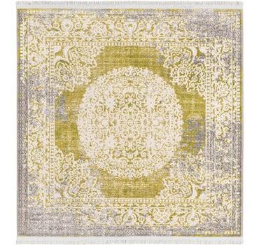 4' x 4' New Vintage Square Rug main image