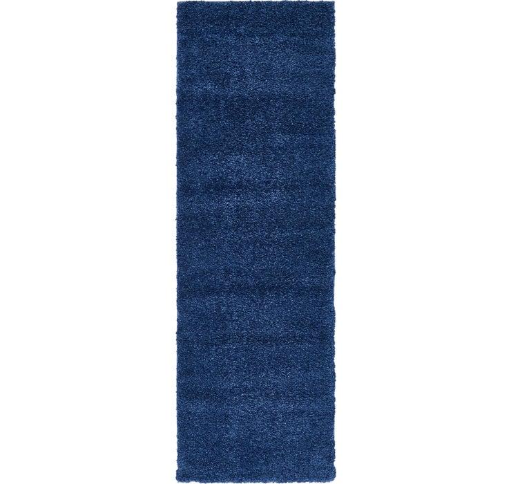 2' 2 x 6' 7 Solid Frieze Runner Rug
