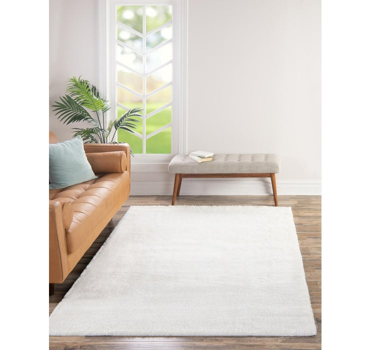8' x 10' Solid Frieze Rug