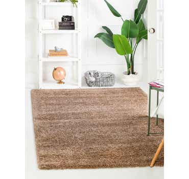 Image of Light Brown The Skinny Rug