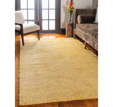 Image of 10' x 13' Solid Frieze Rug