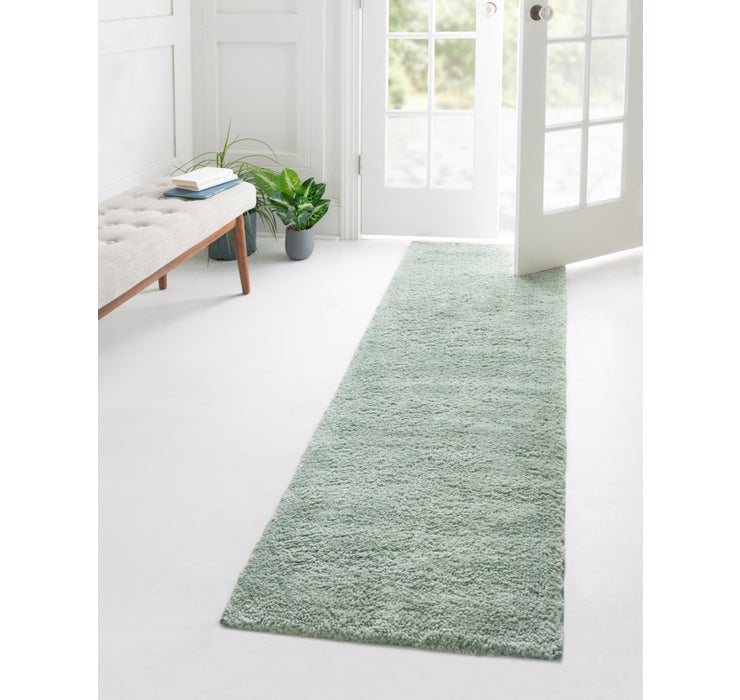 2' 2 x 6' 7 Solid Frieze Runner Rug