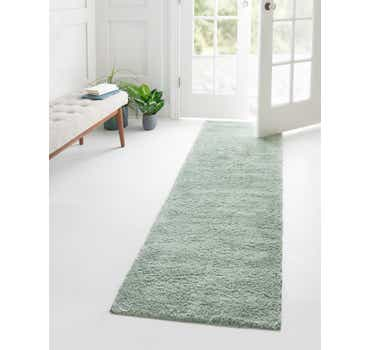 Image of Light Blue The Skinny Runner Rug