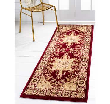 Image of  Red Chateau Runner Rug