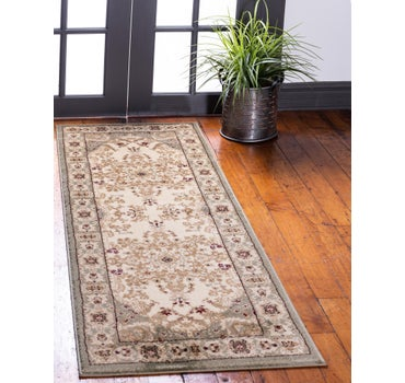 2' 2 x 6' Classic Aubusson Runner Rug main image