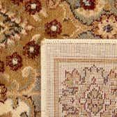 7' 10 x 7' 10 Classic Agra Square Rug thumbnail
