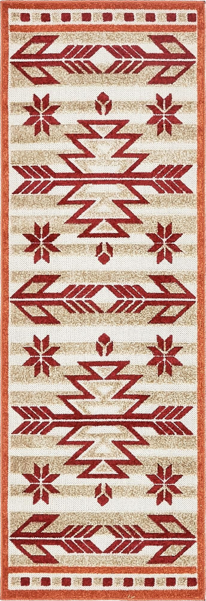2' x 6' Outdoor Modern Runner Rug main image