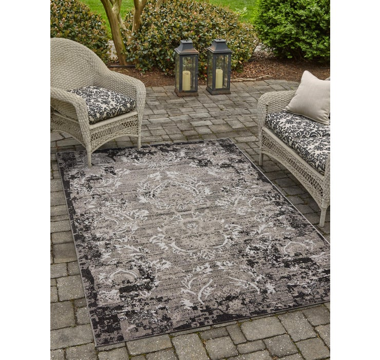 275cm x 365cm Outdoor Botanical Rug