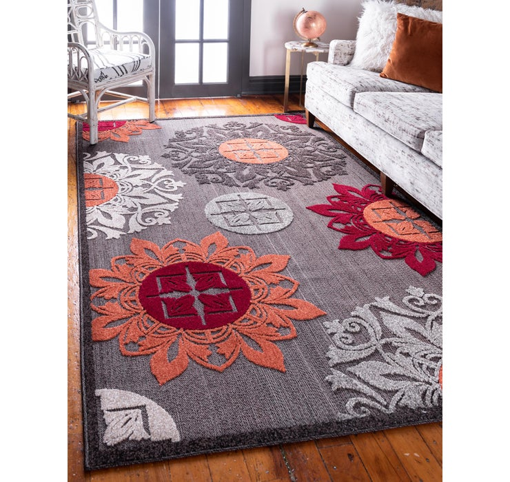 Image of 8' x 10' Outdoor Modern Rug