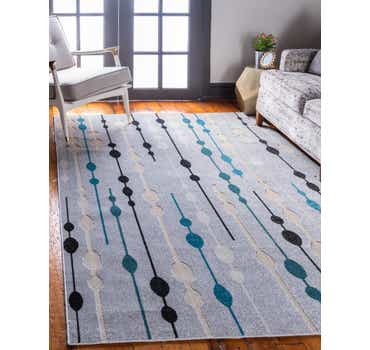 Image of 9' x 12' Outdoor Modern Rug