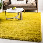 245cm x 245cm Luxe Solid Shag Square Rug thumbnail
