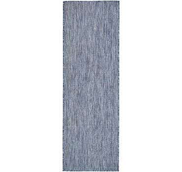 Image of  Blue Outdoor Basic Runner Rug