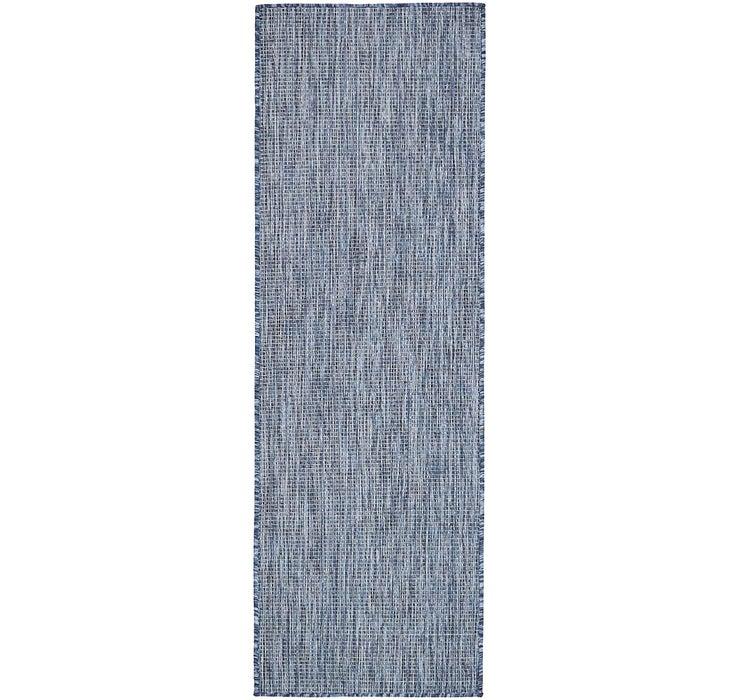 Image of  Blue Outdoor Basic Runner Rug