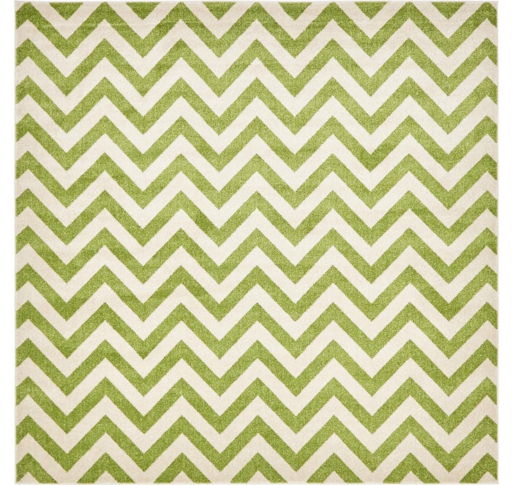 Image of 245cm x 245cm Chevron Square Rug