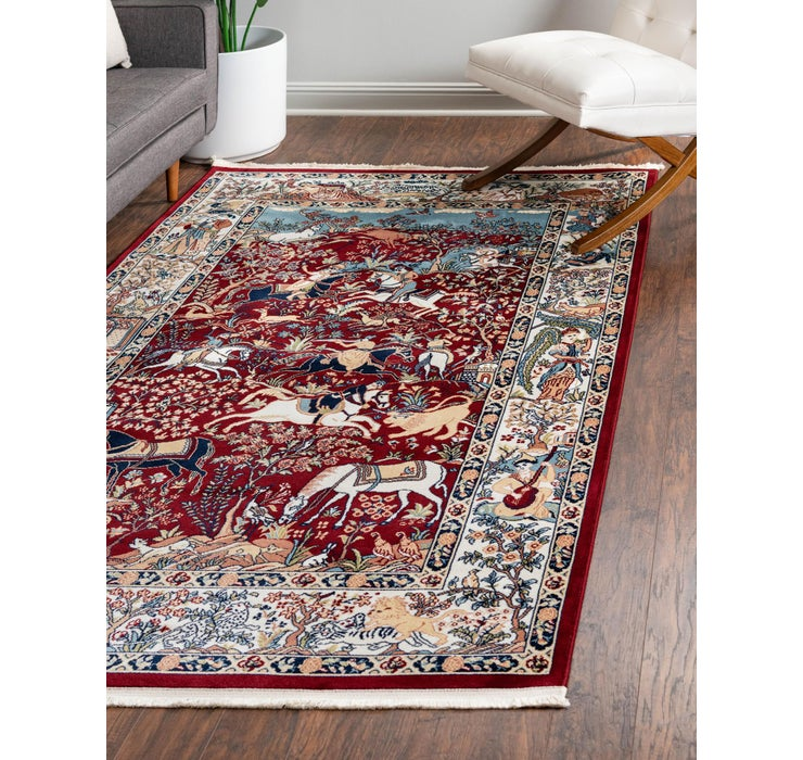 Image of 152cm x 245cm Nain Design Rug