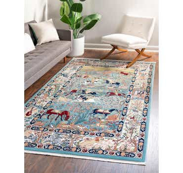 Image of 5' x 8' Nain Design Rug