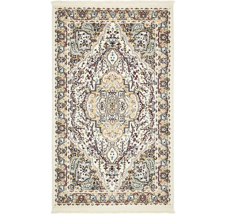 90cm x 152cm Tabriz Design Rug