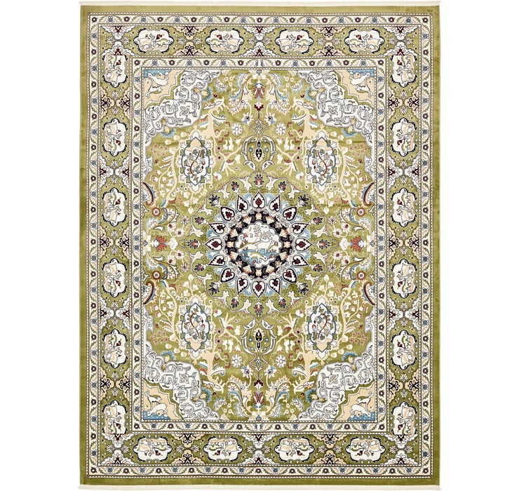 Image of 305cm x 395cm Tabriz Design Rug