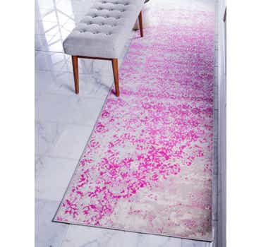Image of  Pink Illusion Runner Rug