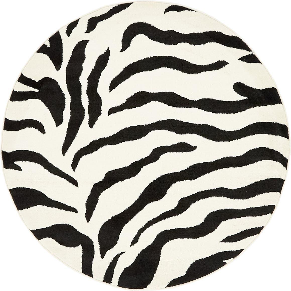 4' x 4' Safari Round Rug main image