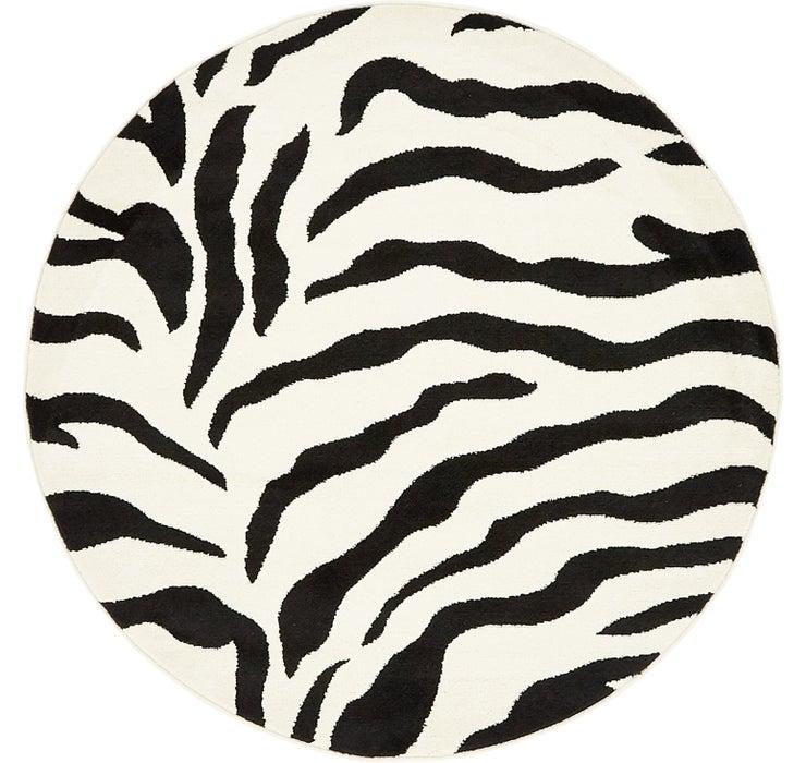 4' x 4' Safari Round Rug