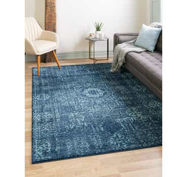 Image of  Navy Blue Legacy Rug