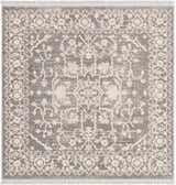 4' x 4' Modern Classical Square Rug thumbnail