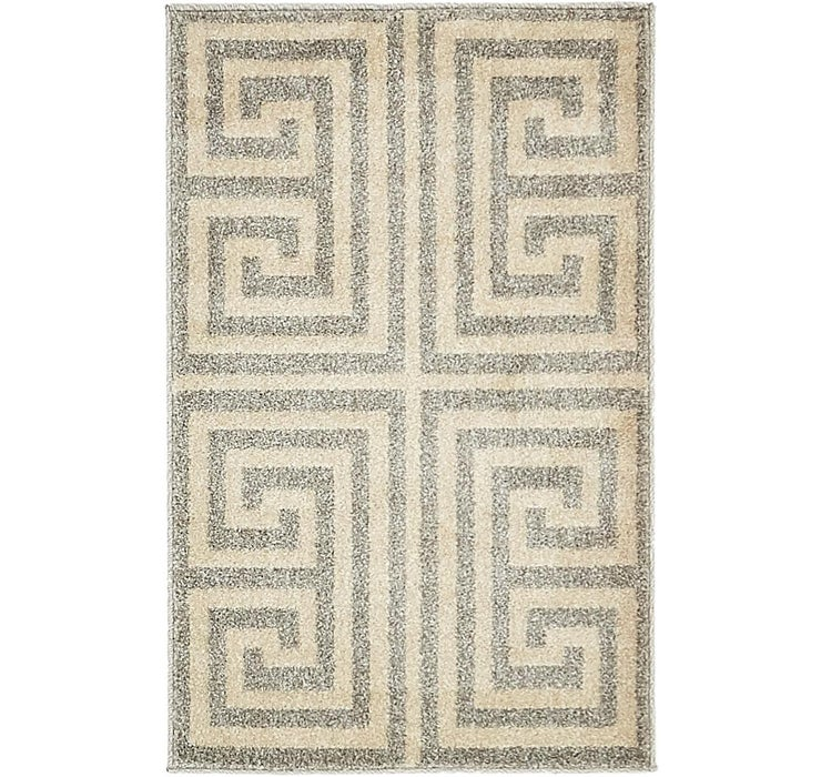 2' x 3' Greek Key Rug