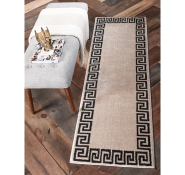 2' 7 x 10' Greek Key Runner Rug main image