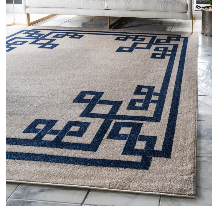 245cm x 245cm Greek Key Square Rug