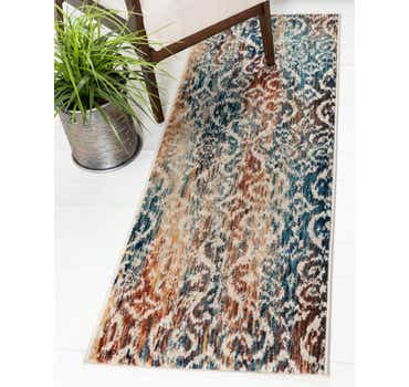 Image of  Blue Gossamer Runner Rug