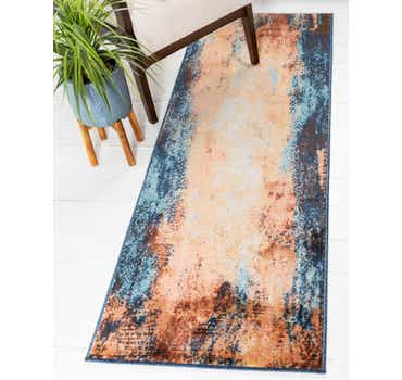 Image of  Brick Red Gossamer Runner Rug