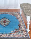 4' x 6' Mashad Design Rug thumbnail