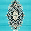 Link to Turquoise of this rug: SKU#3137479