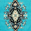 Link to Turquoise of this rug: SKU#3119176