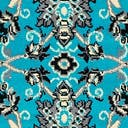 Link to Turquoise of this rug: SKU#3119202