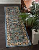 2' 2 x 8' 2 Isfahan Design Runner Rug thumbnail