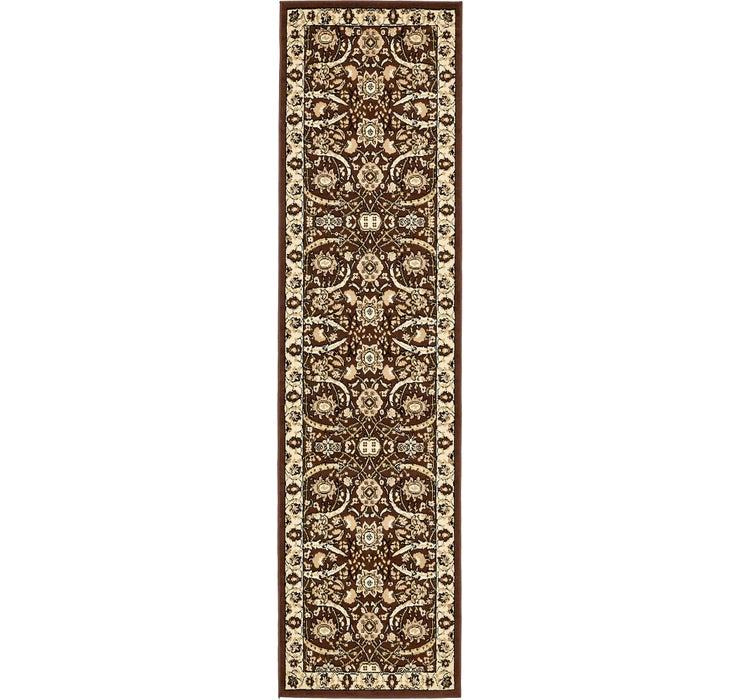2' 7 x 10' Isfahan Design Runner Rug
