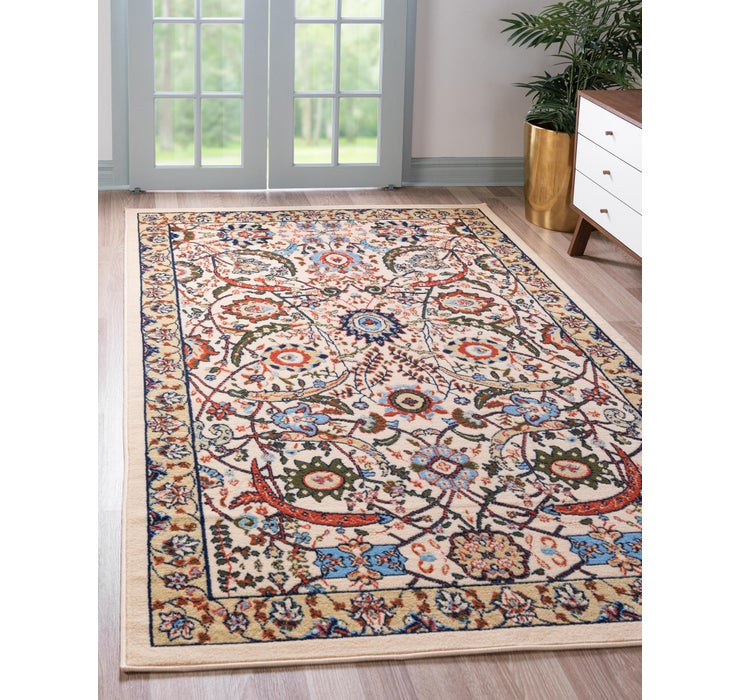 Image of 65cm x 95cm Isfahan Design Rug